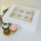 12 Cupcake Window Box ($2.80/pc x 25 units)